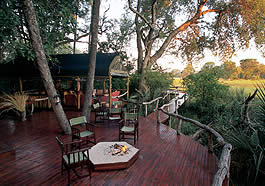 Chitabe Trails Camp, Wilderness Safaris, Botswana