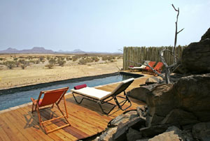 Doro Nawas Camp Damaraland, Namibia - pool view