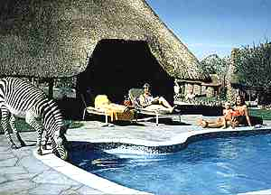 Etusis Lodge Namibia pool