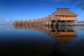 Flamingo Bay Water Lodge Inhambane Mozambique