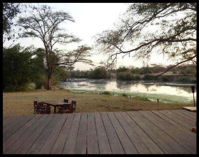 Hippo Pools Camp Site, Ruacana, Namibia