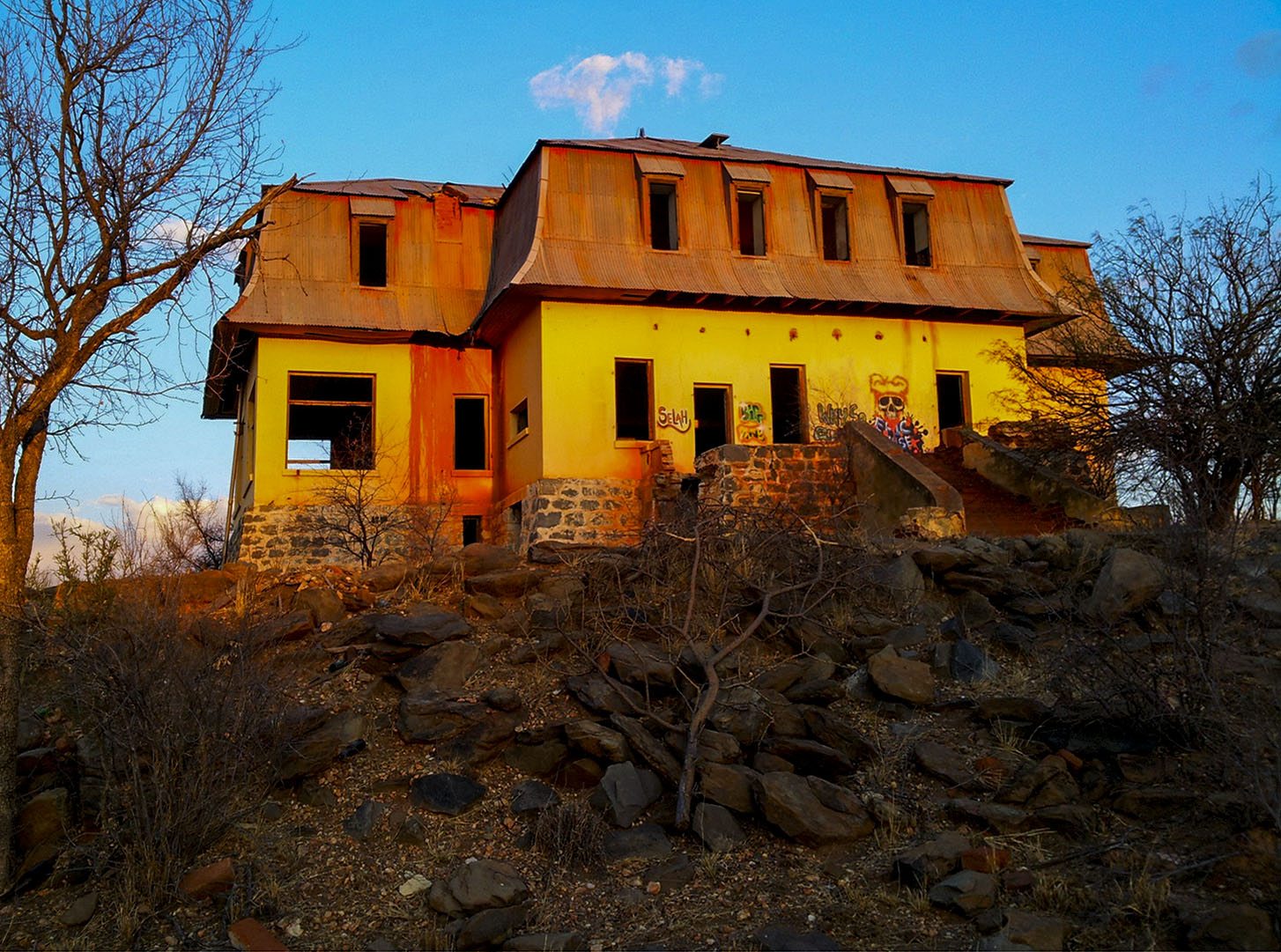 Liebig Ghost House, Windhoek area, Namibia