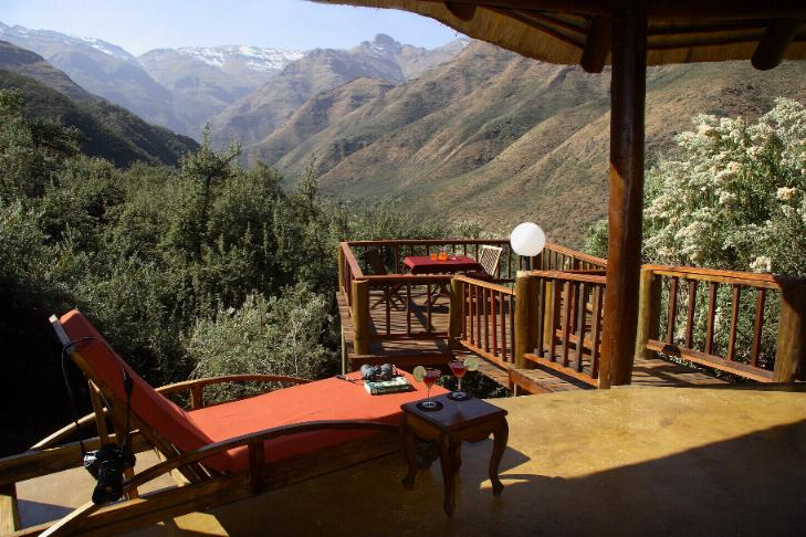 Maliba Mountain Lodge Butha-Buthe, Lesotho: private deck