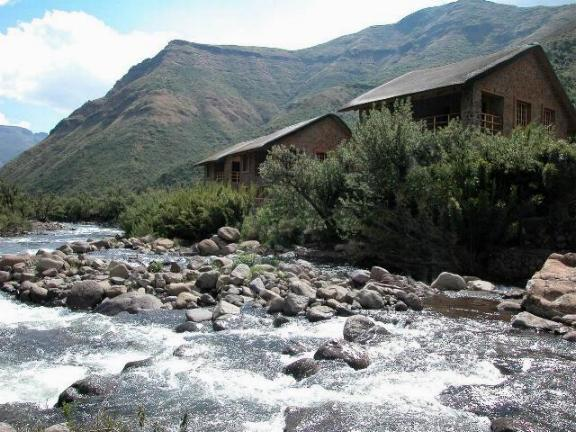 Maliba River Lodge Butha-Buthe, Lesotho: lodge view