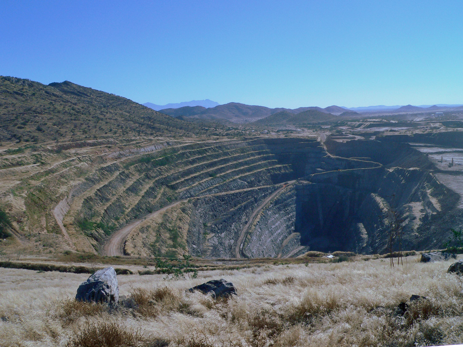 Navachab gold mine Namibia