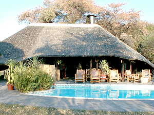n'Kwazi Lodge Namibia pool