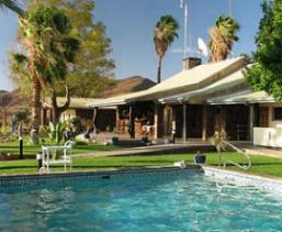 Rooisand Desert Ranch Windhoek Namibia pool