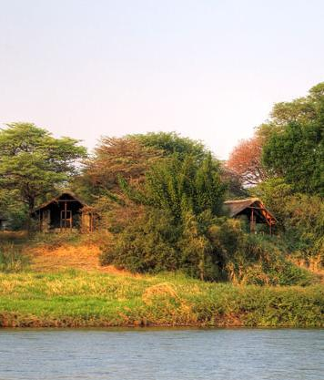 Shackletons Upper Zambezi Lodge, Western Province, Zambia