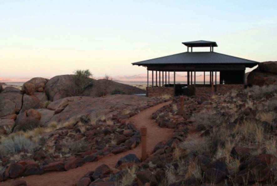 The Soft Adventure Camp Solitaire, Namibia