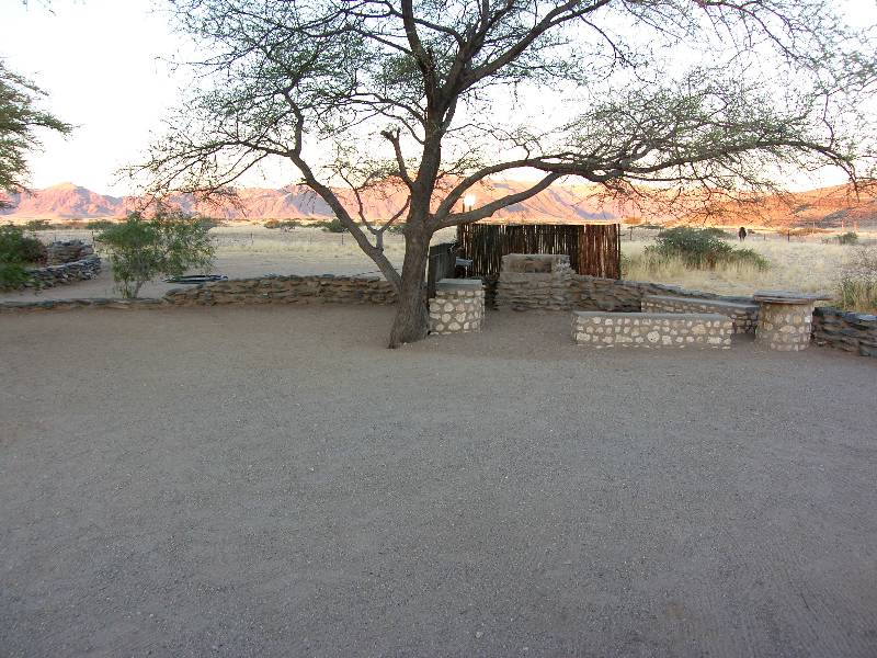 Weltevrede Guest Farm Namibia - camping