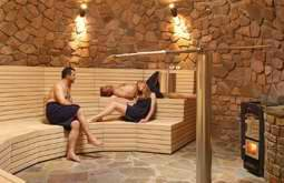 Gocheganas Nature Reserve and Wellness Village Namibia sauna
