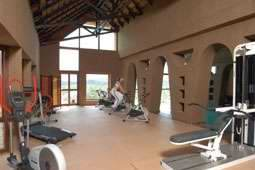Gocheganas Nature Reserve and Wellness Village Namibia gym