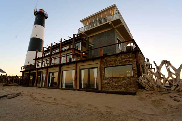 Pelican Point Lodge Walvis Bay, Namibia