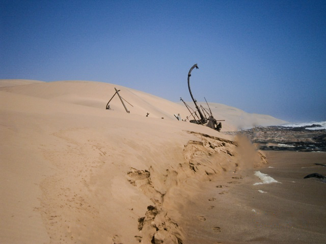 Arkona wreck, north of Spencer Bay, Atlantic West Coast, Namibia